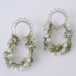 2015 Earrings: Silver, Pearls, Silk and Titanium