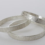 2015 Etched Rings: Silver